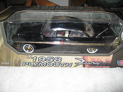 Motor max 1958 Plymouth Fury Mint boxed