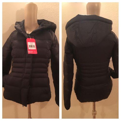 NWT The North Face Women's Laurelee 550 Down Jacket Coat Sz XS Black $220