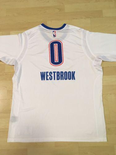 NBA Russell Westbrook Oklahoma City Thunder Adidas Jersey (2XL)