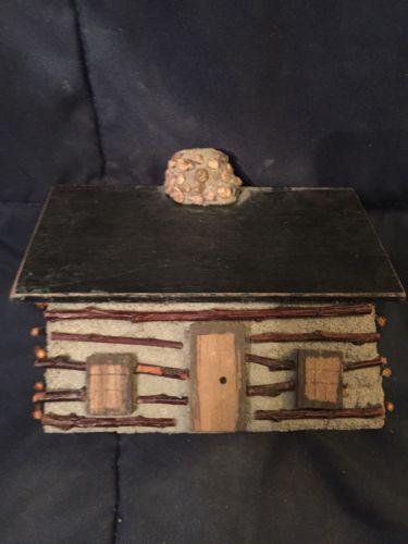 Primitive Rustic Decorative Log Cabin