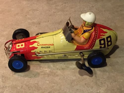 Vintage Wind Up Race Car