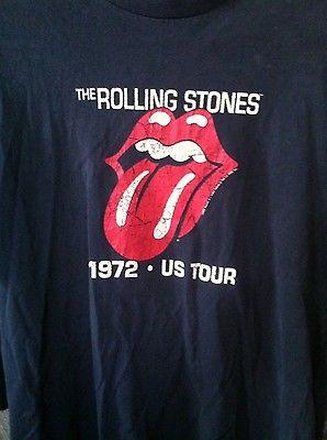 Rolling Stones tour T-shirt 1972