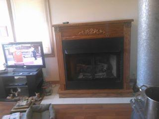 Top of the line Buck Stove/ fireplace unit