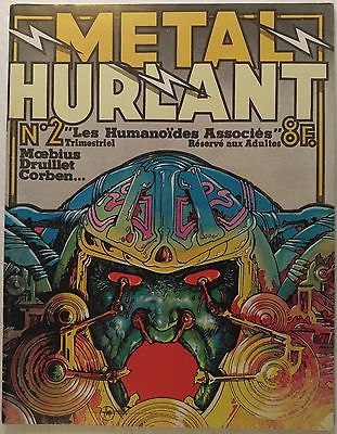 METAL HURLANT magazine #2 [Moebius, Philippe Druillet, Richard Corben, Dionnet]