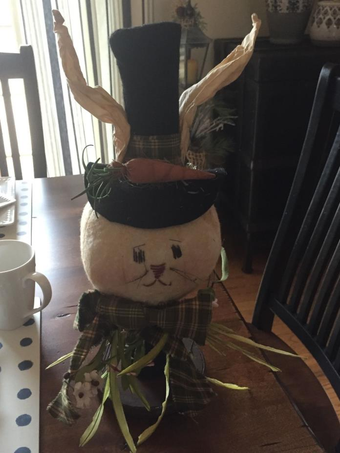 Easter Bunny Country Primitive Decor