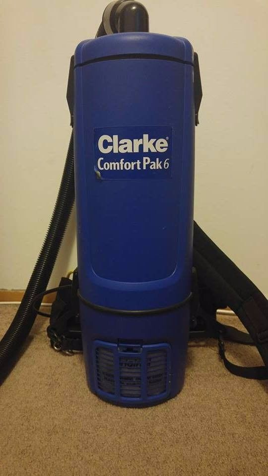 clarke comfort pak6 110-120v Vacuum With Tool Kit