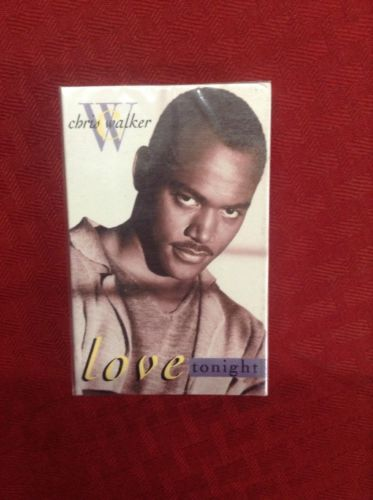 Chris Walker Love Tonight Cassette Single