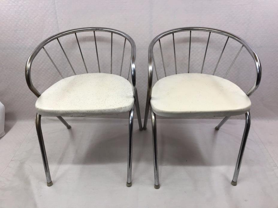 Antique 1950's Child's Chairs