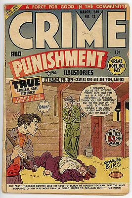 Crime and Punishment #12 (Mar 1949, Lev Gleason) Pre-Code Crime Comic