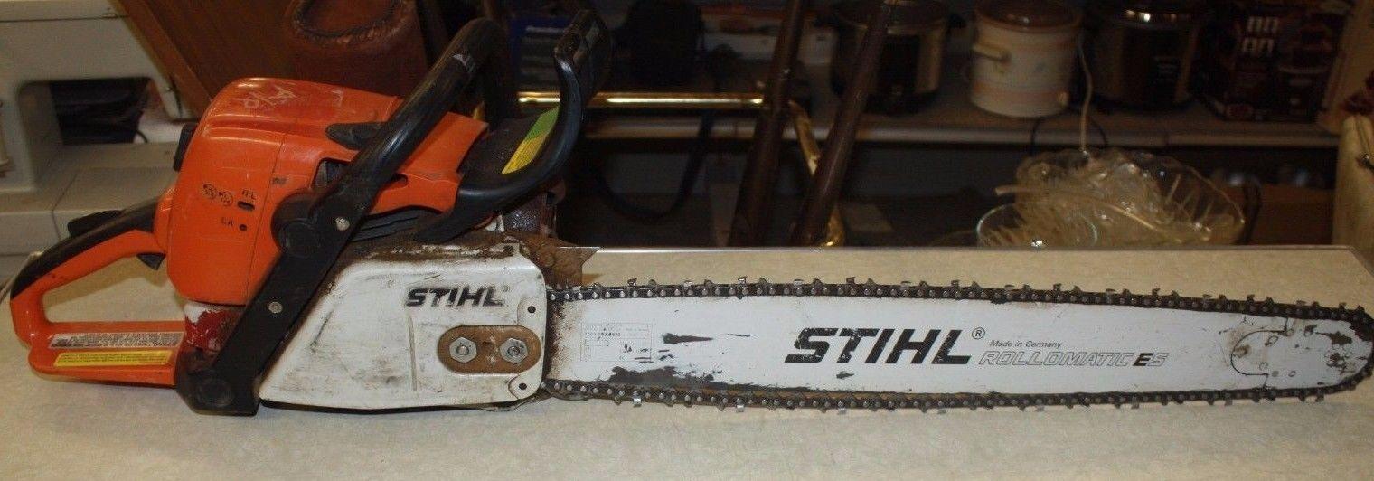 Stihl ms390 chainsaw - CHAINSAW - STIHL - MS390 - Page 1
