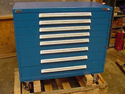 New Vidmar Rolling tool Cabinet 8 Drawer with keyed locking