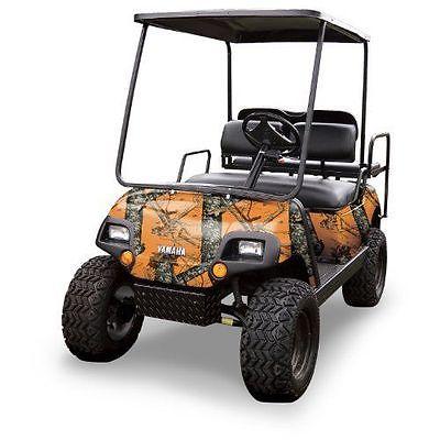 New Mossy Oak Graphics (10060-BZ) Blaze 4 x 10 Roll Golf Cart Camouflage Kit