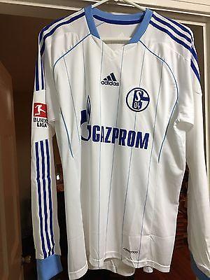Schalke 04 #7 Raul 100% Authentic Player Issue Jersey Sz L 2011/12 Away BNWT