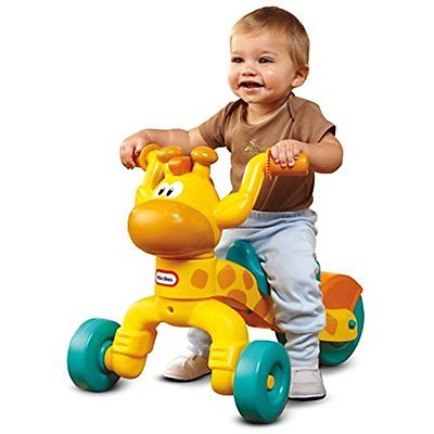 Little Tikes Go and Ride-On Toys Grow Lil Rollin Giraffe Ride-on
