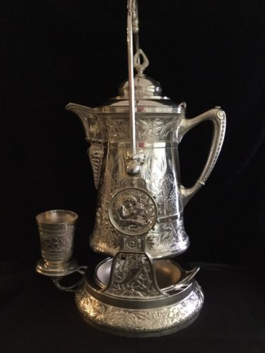 Meriden Antique Silver-plate Water Pitcher