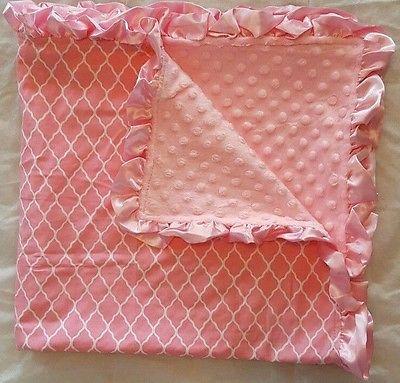 New Toddler Baby Minky Swaddling Blanket 31