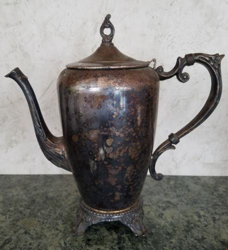 Antique SIlver Plated? Teapot. Estate Find