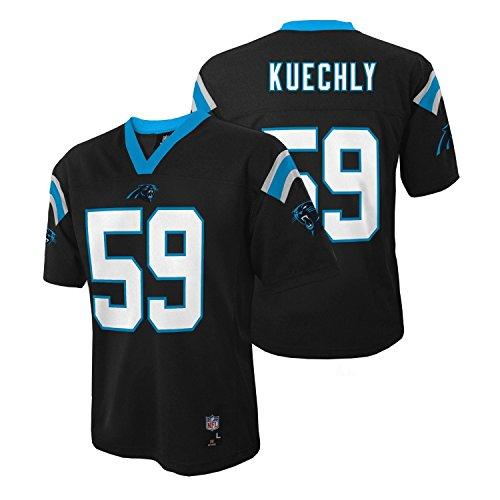 Luke Kuechly Carolina Panthers Black NFL Kids 2016-17 Season Mid-tier Jersey
