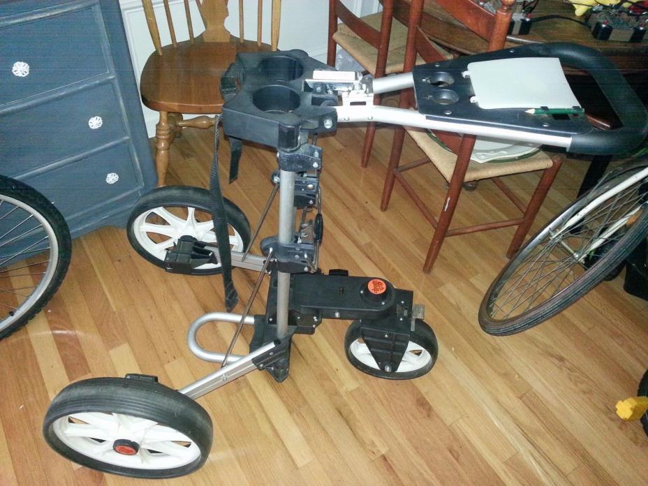 Upright Caddy 3 wheel golf cart