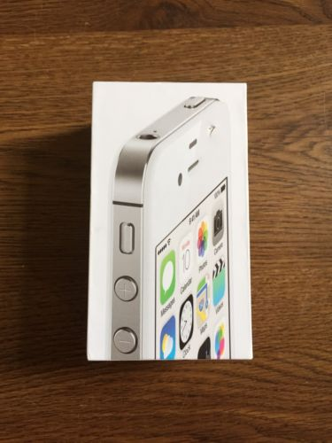 Apple iPhone 4s White 8 GB Empty Box Only No Phone Verizon