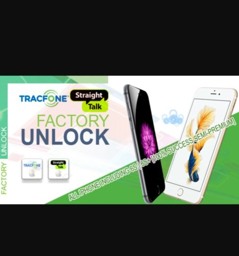 Straight Talk Unlock  Services All iPhones except 7/7+ 100% SUCCESS RATE