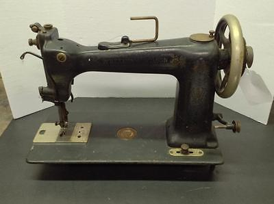 ANTIQUE D9 WHEELER WILSON TREADLE SEWING MACHINE (J-SM-4)