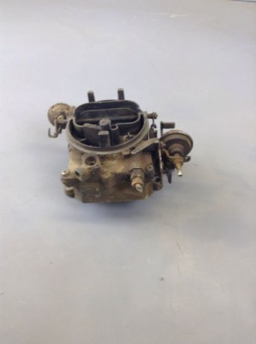 IH INTERNATIONAL SCOUT ll  IH TRUCK TRAVELALL HOLLEY 2210 CARBURETOR