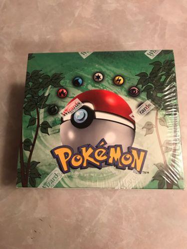 Pokémon Base Set Booster Box (jungle)