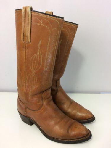 mens vintage frye Cowboy boots 9.5