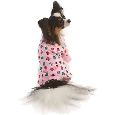 Owl Print Dog Pj's Pink Medium 660204020602