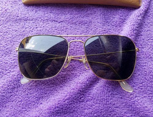 Vintage RayBan Caravan Naval Sunglasses