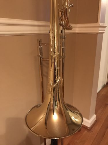 SE Shires Custom Large Bore Tenor Trombone