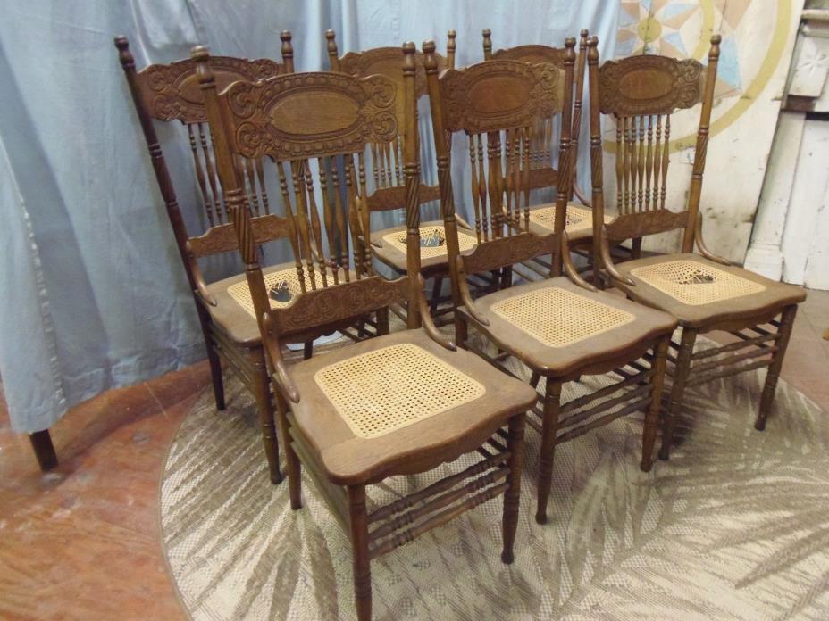 Pressed Oak Chairs ~ Oak press back chair for sale classifieds