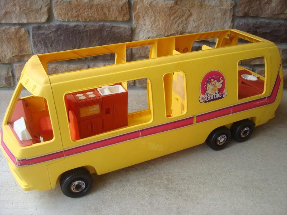 VINTAGE BARBIE STAR TRAVELER MOTOR HOME RV BUS TOY CAMPER GMC ELEGANZA II 1976