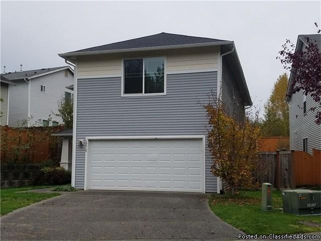 This Lake Stevens home is in great condition.
