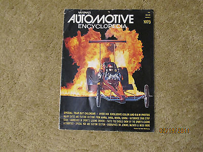 1973 NATIONALS Automotive Encycylopedia Mongoose/Snake/Ivo/Garlits/Jenkins WOW!