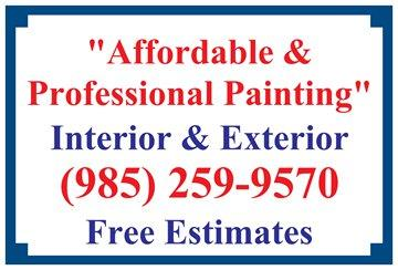 AFFORDABLE EXTERIOR HOUSE PAINTING