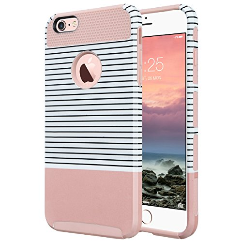 iPhone 6s Case, iPhone 6 Case, ULAK Hybrid Slim Case With Hard PC and Inner