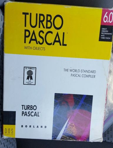 Borland Turbo Pascal 6.0 With Objects #2