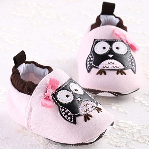 Sunward Baby Toddler Cute Soft Sole Leopard Leather Shoes Infant Boy Girl