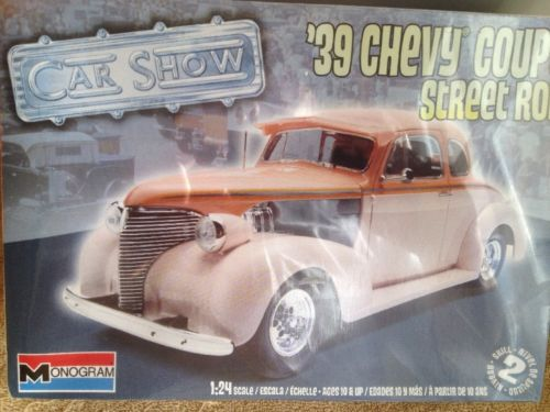 1939 39 Monogram 1/24 Chevy Coupe great kit for Gasser sealed