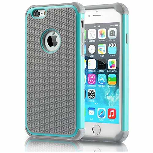 iPhone 6 Case,Gogoing Impact Resistant Double Layer Shockproof Hard Shell Case
