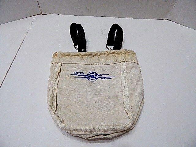 ESTEX 1061 LINEMANS CANVAS TOOL BAG