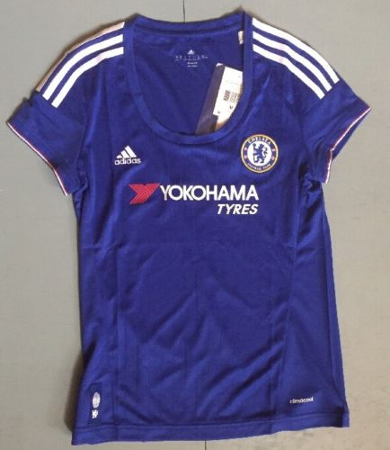 Chelsea Football Club Adidas Climacool Soccer Jersey Women's Retail $80