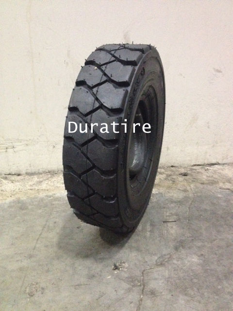 [2 Tires], 5.00-8 10PR,Forklift Tire, 5.00x8, 500x8, 500-8, (with Tubes & Flaps)