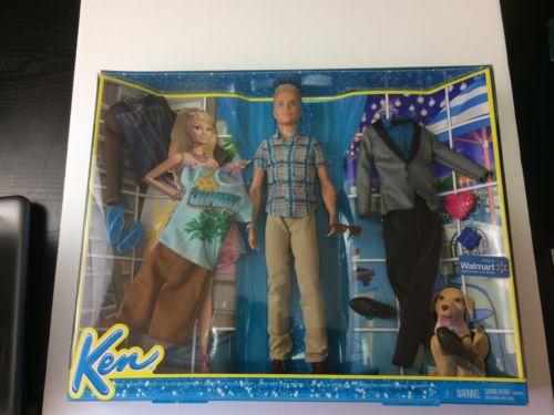 Barbie Ken Fashion Pack Gift Set Walmart Exclusive