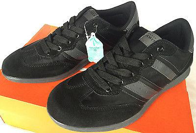 new Perry Ellis Audi A14F227A-17 Black Leather Fashion Sneaker Shoes Men's 9