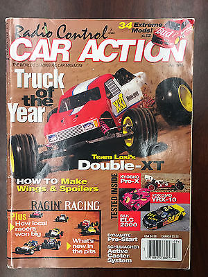 Vintage Radio Control Car Action magazine RCCA July 1995 RC