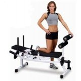 Body Solid GAB100 Body Solid Horizontal Ab Crunch Bench with Weight Resistance