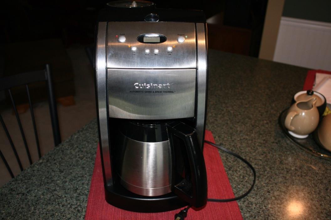 Cuisinart Grind & Brew DGB-550BK 12 Cups Coffee Maker - Black